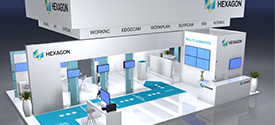 Access smart manufacturing with Hexagon's software solutions at Global Industrie 2020